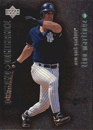 Photo of 1999 Black Diamond Dominance #D28 Tino Martinez