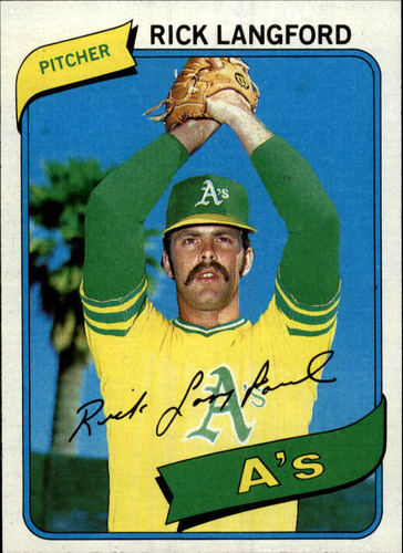 Photo of 1980 Topps #546 Rick Langford