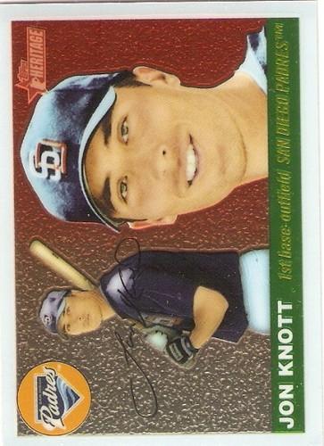 Photo of 2004 Topps Heritage Chrome #THC94 Jon Knott