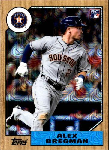 Photo of 2017 Topps '87 Topps Silver Pack Chrome #87ABR Alex Bregman