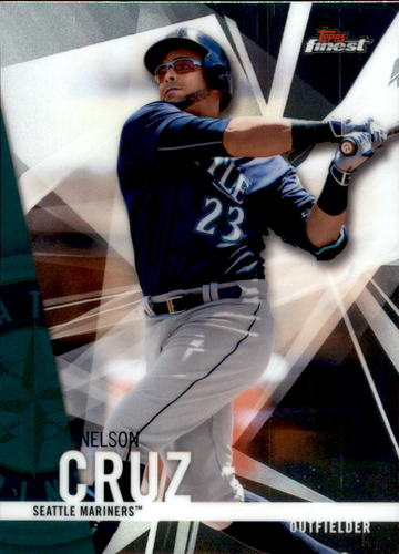 Photo of 2017 Finest #63 Nelson Cruz