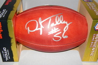 NFL - BILLS DARRYL TALLEY SIGNED AUTHENTIC FOOTBALL