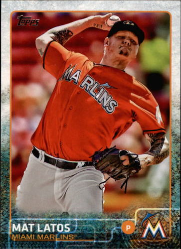 Photo of 2015 Topps #467 Mat Latos