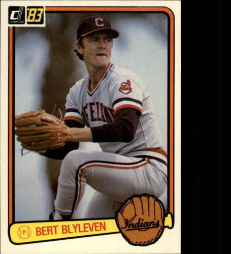 Photo of 1983 Donruss #589 Bert Blyleven