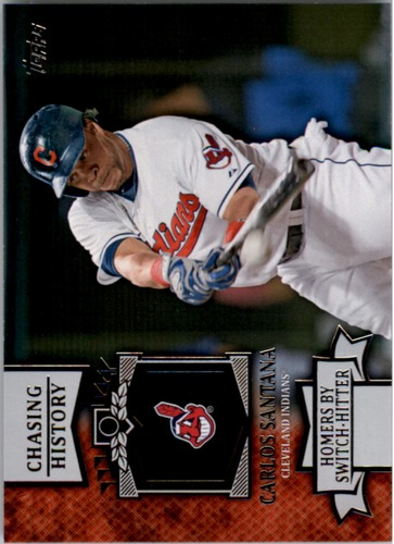 Photo of 2013 Topps Chasing History #CH105 Carlos Santana