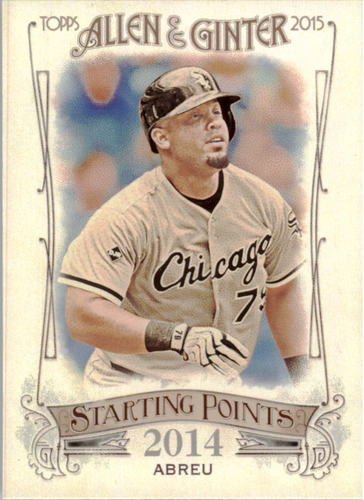 Photo of 2015 Topps Allen and Ginter Starting Points #SP18 Jose Abreu