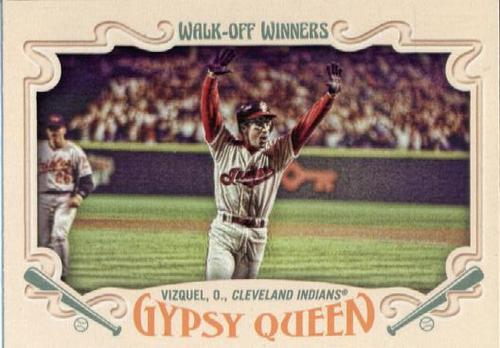 Photo of 2016 Topps Gypsy Queen Walk Off Winners #GWO8 Omar Vizquel