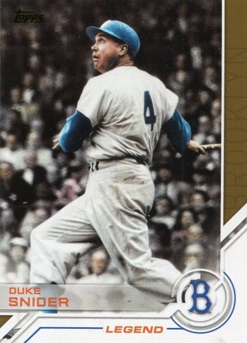 Photo of 2017 Topps Salute #S173 Duke Snider
