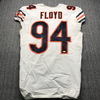 London Games - Bears Leonard Floyd Game Used Jersey with 100th AnniversaryPatch (10/6/19) Size 40