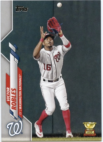 Photo of 2020 Topps #547 Victor Robles
