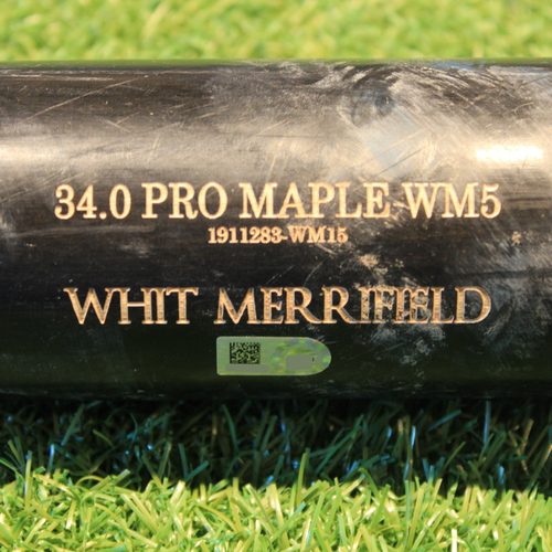 Photo of Team-Issued Bat: Whit Merrifield #15