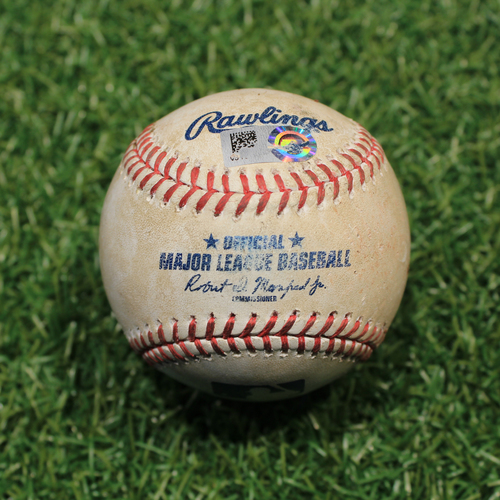 Photo of Game-Used Baseball: Hunter Dozier 269th Career Hit (9/27/20 DET @ KC)