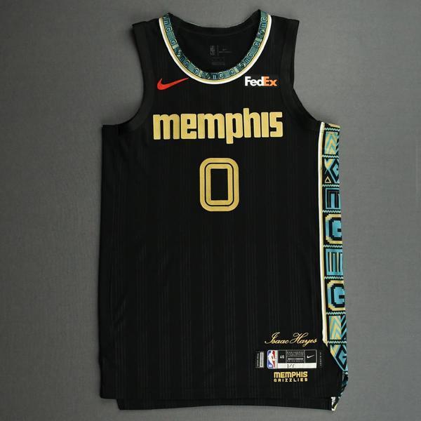 Image of De'Anthony Melton - Memphis Grizzlies - Game-Worn City Edition Jersey - 2020-21 NBA Season