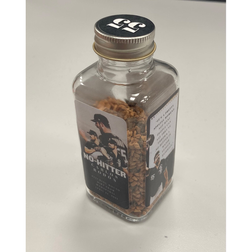 Photo of Game-Used Dirt from April 14, 2021: Carlos Rodon No Hitter