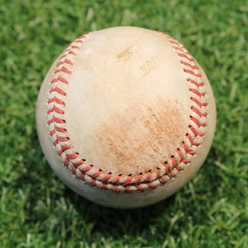 Photo of Game-Used Baseball: Robbie Ray 1,045th Career Strikeout (TOR@KC 4/18/21)