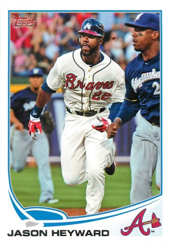 Photo of 2013 Topps #222 Jason Heyward