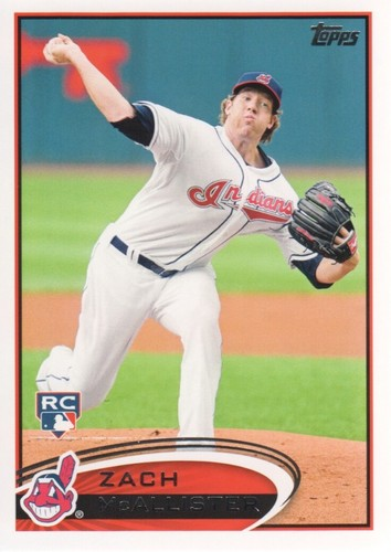 Photo of 2012 Topps #570 Zach McAllister RC
