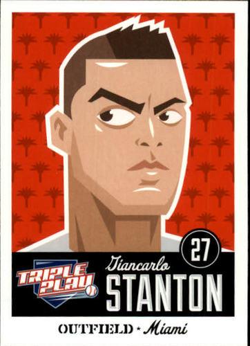 Photo of 2012 Triple Play #43 Giancarlo Stanton
