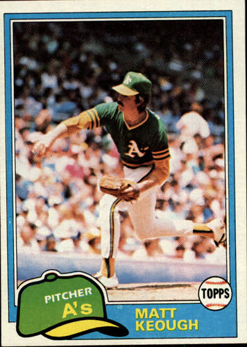 Photo of 1981 Topps #301 Matt Keough
