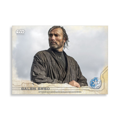 Galen Erso 2016 Star Wars Rogue One Series One Base Poster - # to 99