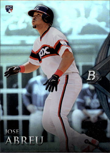 Photo of 2014 Bowman Platinum #76 Jose Abreu Rookie Card