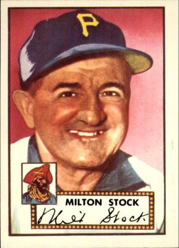 Photo of 1983 Topps 1952 Reprint #381 Milton Stock CO