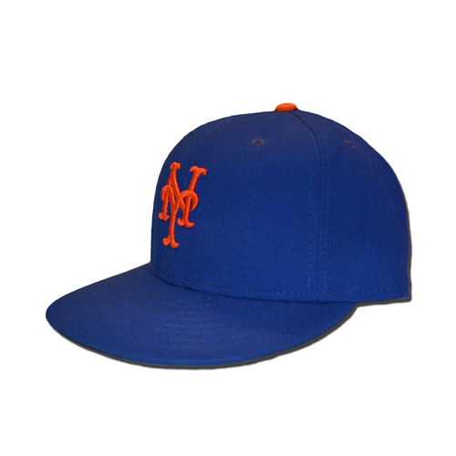 Wilmer Flores #4 - Game Used Blue Hat - Mets Clinch Wildcard Berth - Mets vs. Phillies - 10/1/16