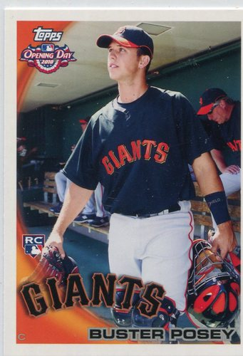 Photo of 2010 Topps Opening Day #207 Buster Posey Rookie Card