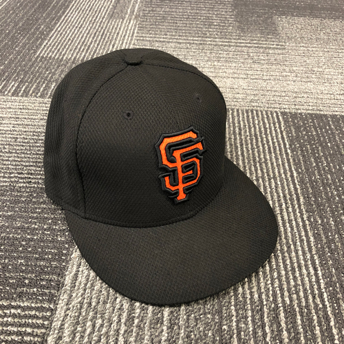 Photo of 2017 Game Used Batting Practice Cap - #32 Steven Okert - Size 7 1/8