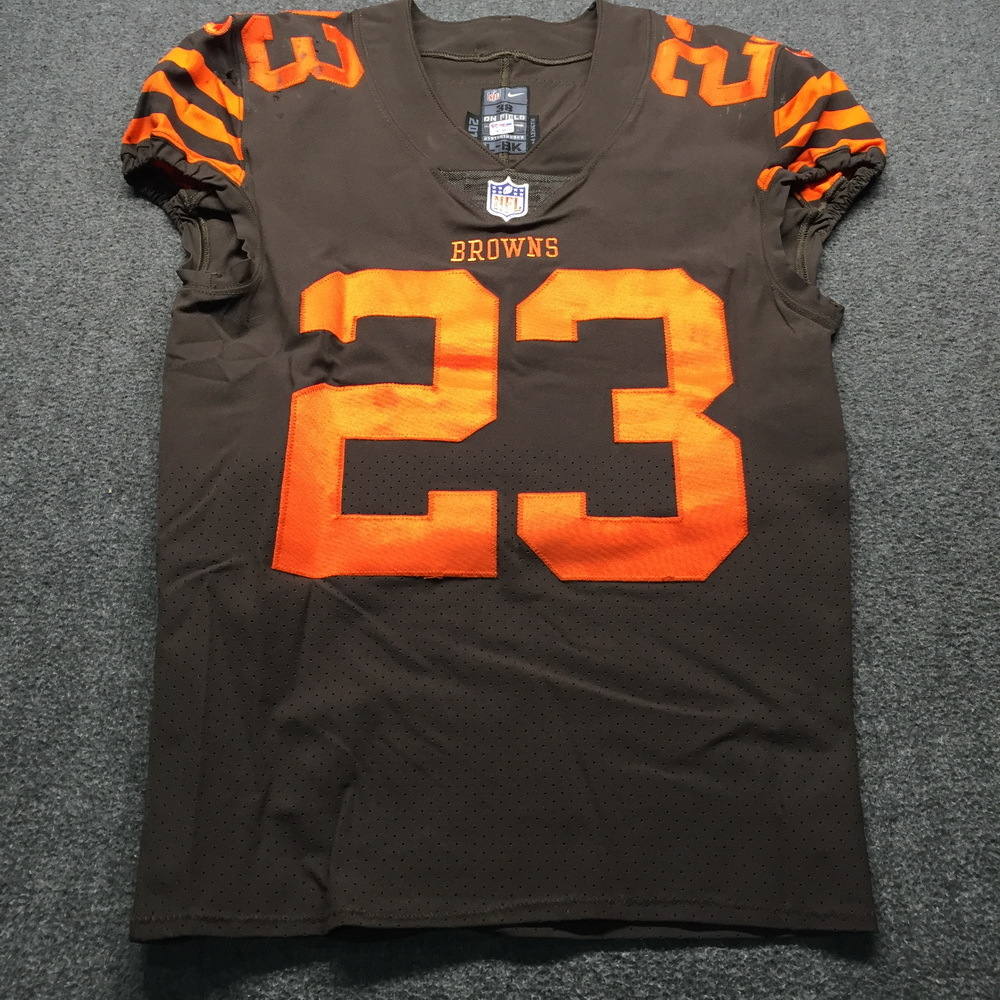online retailer 5db8e 6baf9 NFL Auction | Crucial Catch - Browns Damarious Randall Game ...