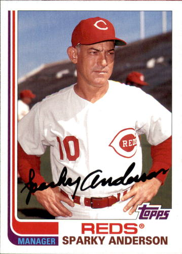 Photo of 2017 Topps Archives #191 Sparky Anderson