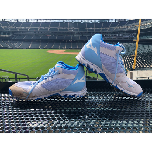 Photo of Colorado Rockies Foundation Game-Used Father's Day Cleats - Wade Davis - June 16, 2019 vs. Padres