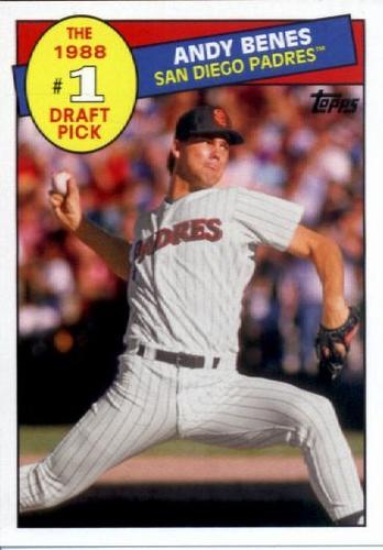 Photo of 2016 Topps Archives '85 Topps #1 Draft Pick #85DPAB Andy Benes