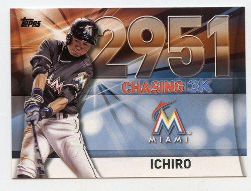 Photo of 2016 Topps Chasing 3000 #300041 Ichiro Suzuki