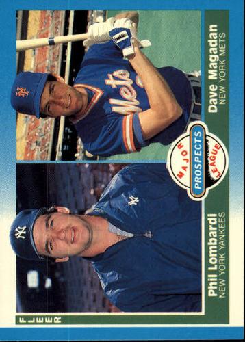 Photo of 1987 Fleer #648 Dave Magadan RC/Phil Lombardi RC