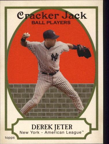 Photo of 2005 Topps Cracker Jack #175 Derek Jeter