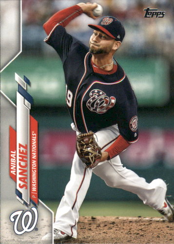 Photo of 2020 Topps #193 Anibal Sanchez