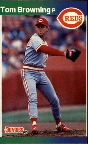 Photo of 1989 Donruss #71 Tom Browning