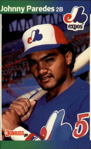 Photo of 1989 Donruss #570 Johnny Paredes DP