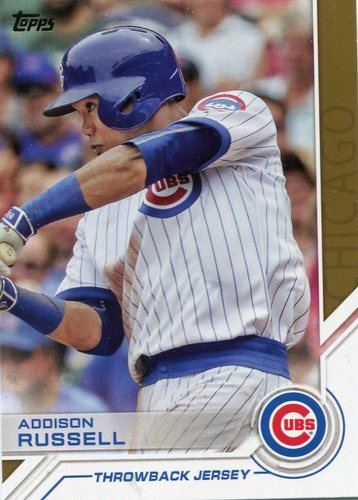Photo of 2017 Topps Salute #S186 Addison Russell