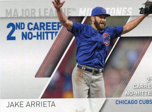 Photo of 2017 Topps Major League Milestones #MLM12 Jake Arrieta
