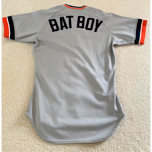 Bat Boy Detroit Tigers Road Jersey (NOT MLB AUTHENTICATED)