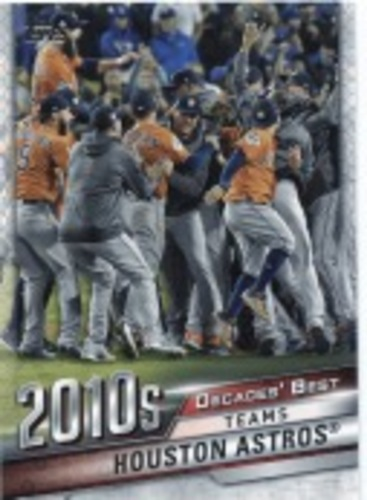 Photo of 2020 Topps Decades' Best #DB84 Houston Astros