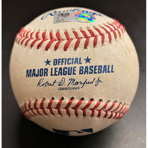 Photo of Game-Used Baseball:  Eloy Jimenez Chicago White Sox RBI Single (MLB AUTHENTICATED)