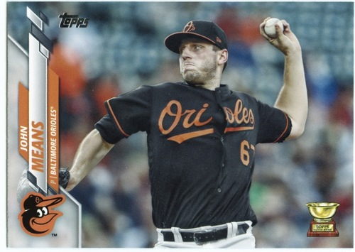 Photo of 2020 Topps #550 John Means