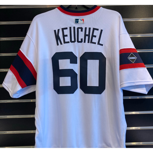 Photo of Dallas Keuchel 2020 Team Issued Throwback Jersey- Size 46