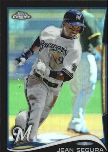 Photo of 2014 Topps Chrome Black Refractors #13 Jean Segura