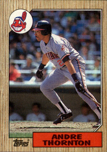 Photo of 1987 Topps #780 Andre Thornton