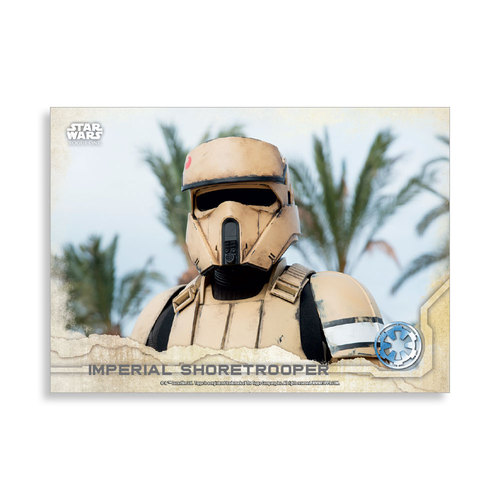 Imperial Shoretrooper 2016 Star Wars Rogue One Series One Base Poster - # to 99