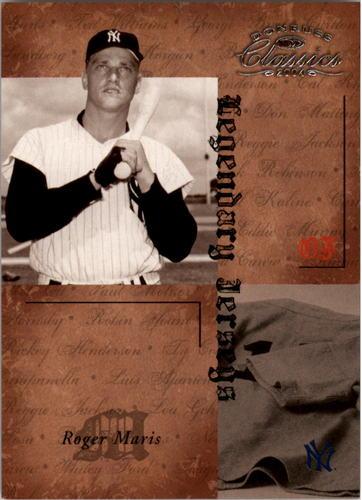 Photo of 2004 Donruss Classics Legendary Jerseys #4 Roger Maris Yanks